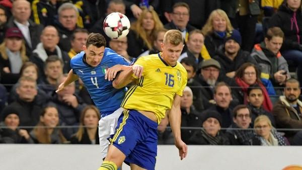 Italia Sudah Bagus Lawan Swedia, Cuma Kurang Gol Saja