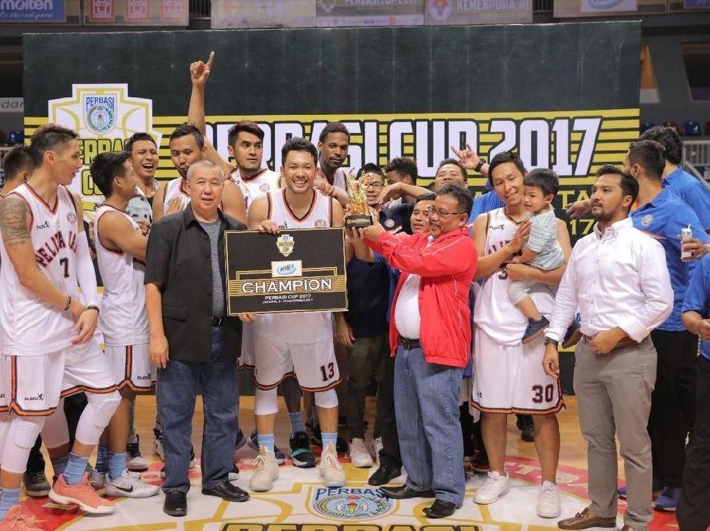 Kalahkan Satria Muda, Pelita Jaya Juara Perbasi Cup 2017