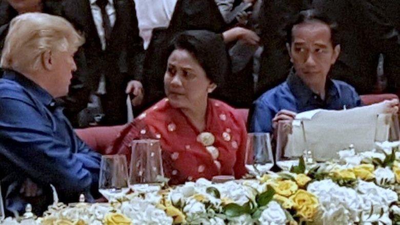 Jokowi Ingat Betul Saat Trump Ajak Bicara Iriana: Saya Lihatin Terus