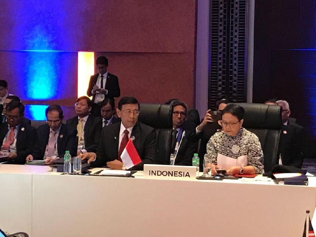 Indonesia Desak Anggota ASEAN Selesaikan Konflik di Rakhine