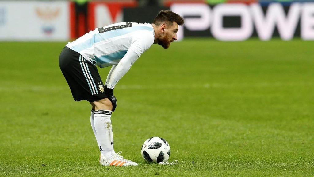Messi Tak Muntah Lagi Usai Berhenti Makan Sembarangan