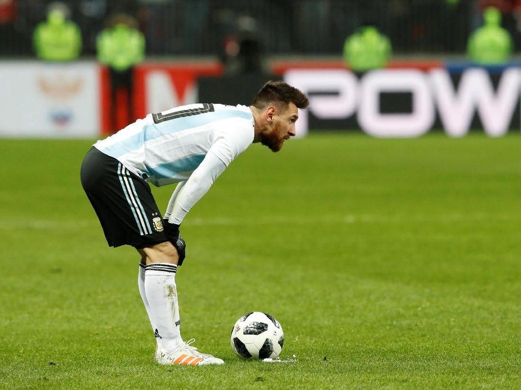 Messi Tak Bisa Bawa Argentina Juara Piala Dunia Sendirian