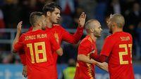 Spanyol Umumkan Skuat Piala Dunia 2018, Tak Ada Morata