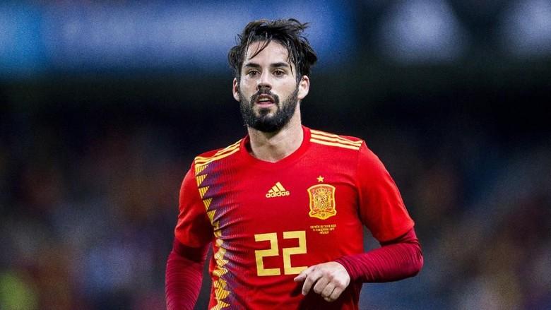 Timnas Spanyol Tunggu Kepastian Cedera Isco