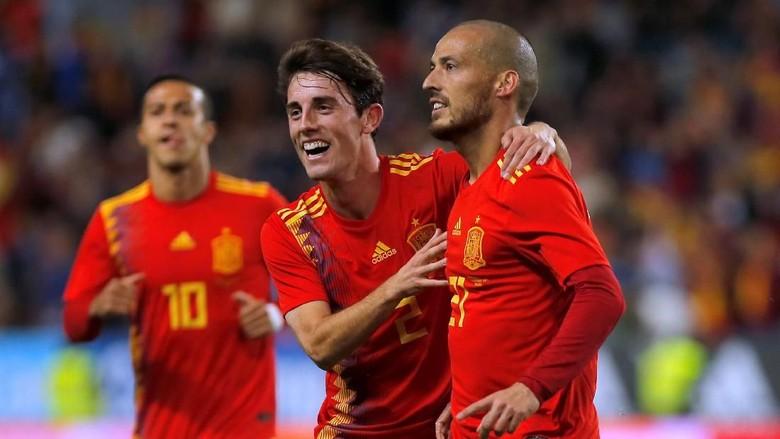 Spanyol Gasak Kosta Rika 5-0