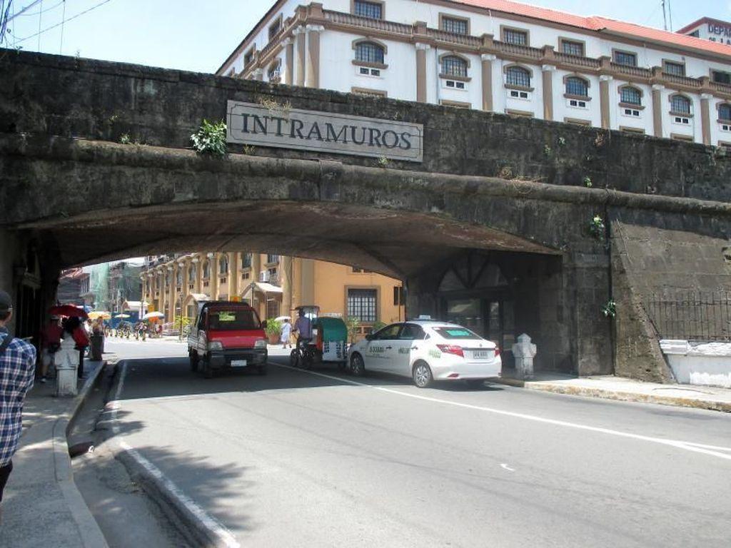 Intramuros, Kota Tua Ala Manila