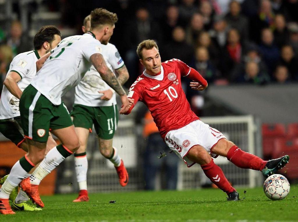 Denmark Diimbangi Republik Irlandia Tanpa Gol