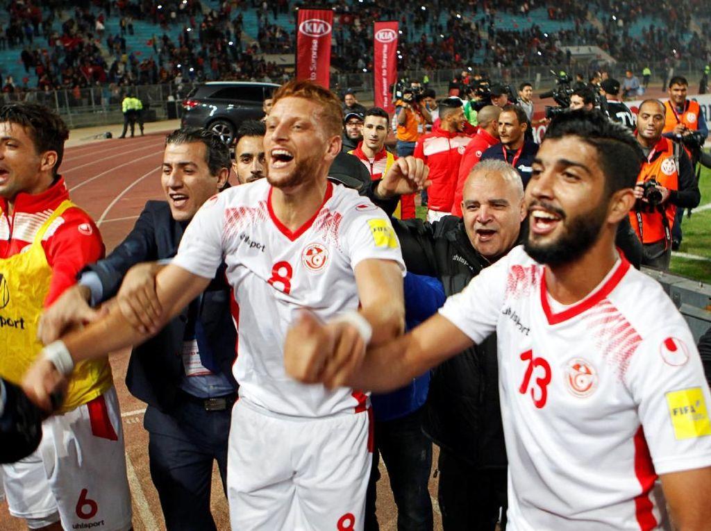 Tunisia dan Maroko Lengkapi Wakil Afrika di Piala Dunia