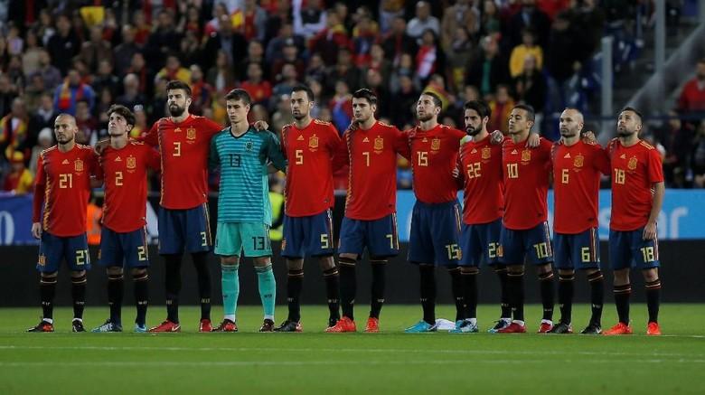 RFEF Bantah Spanyol Akan Dicoret dari Piala Dunia 2018