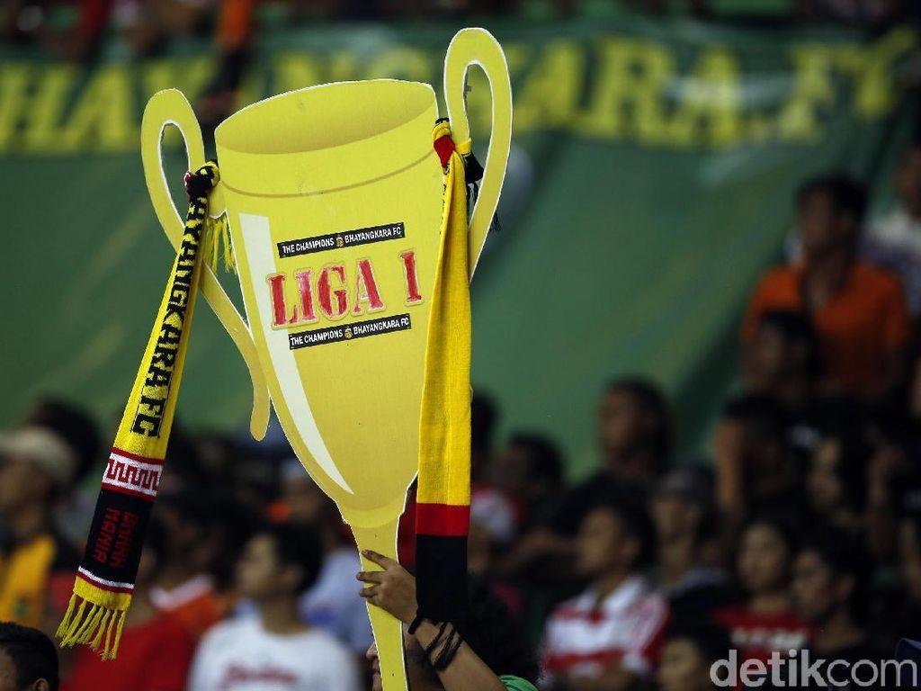 Ditumbangkan Persija, Bhayangkara FC Tetap Juara Liga 1