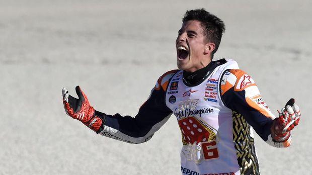 Marc Marquez sudah memperkuat Repsol Honda sejak 2013.
