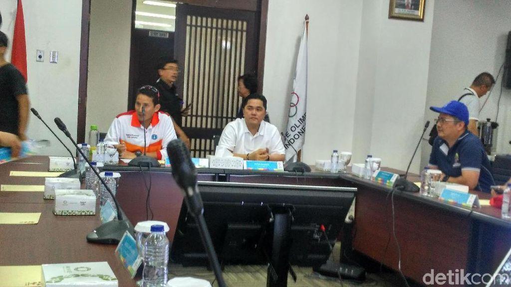 Sambut Asian Games 2018, Sandiaga Ingin PKL di GBK Tertata Rapi