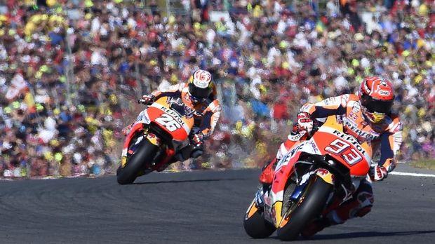 Marc Marquez akan memperkuat Repsol Honda hingga musim 2020.