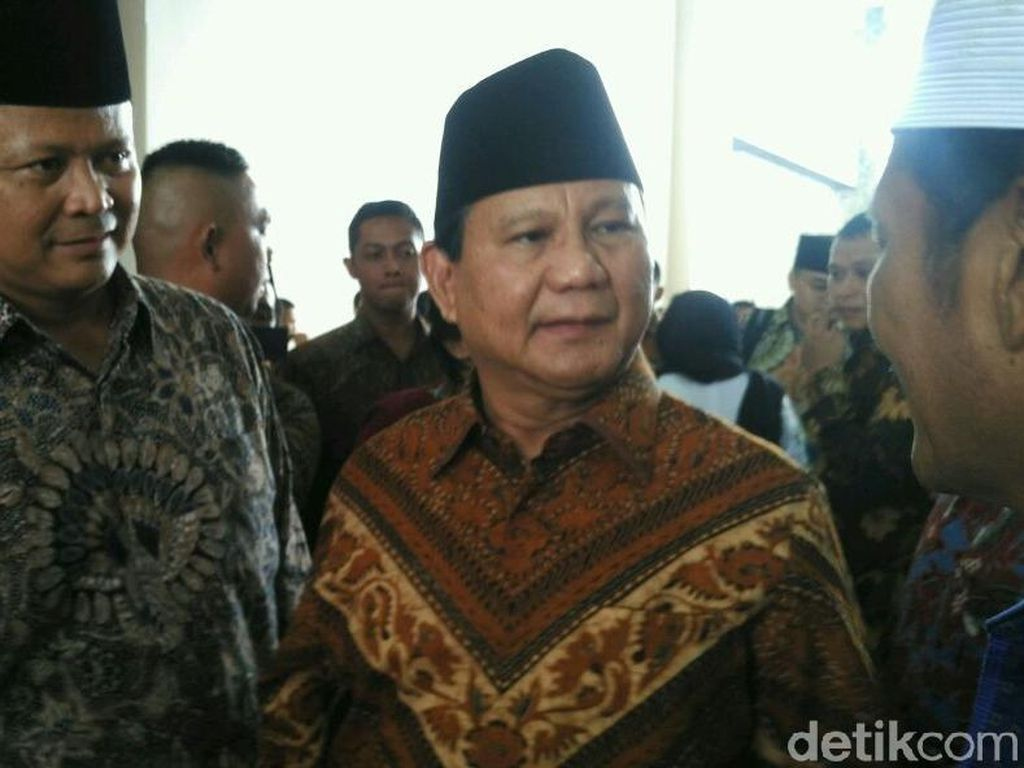 Pesan Prabowo ke Generasi Muda: Jangan Mau Tunduk pada Bangsa Asing