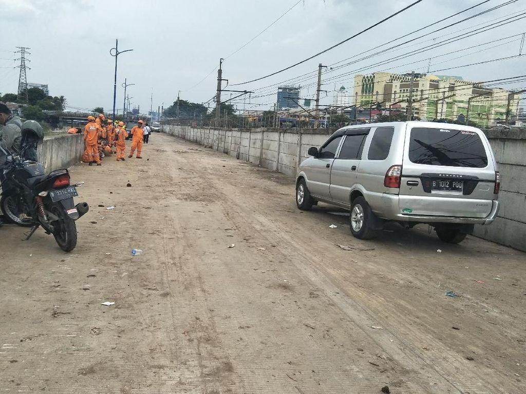 Jalur Kanal Banjir Barat Kini Bersih dari Bangunan Liar