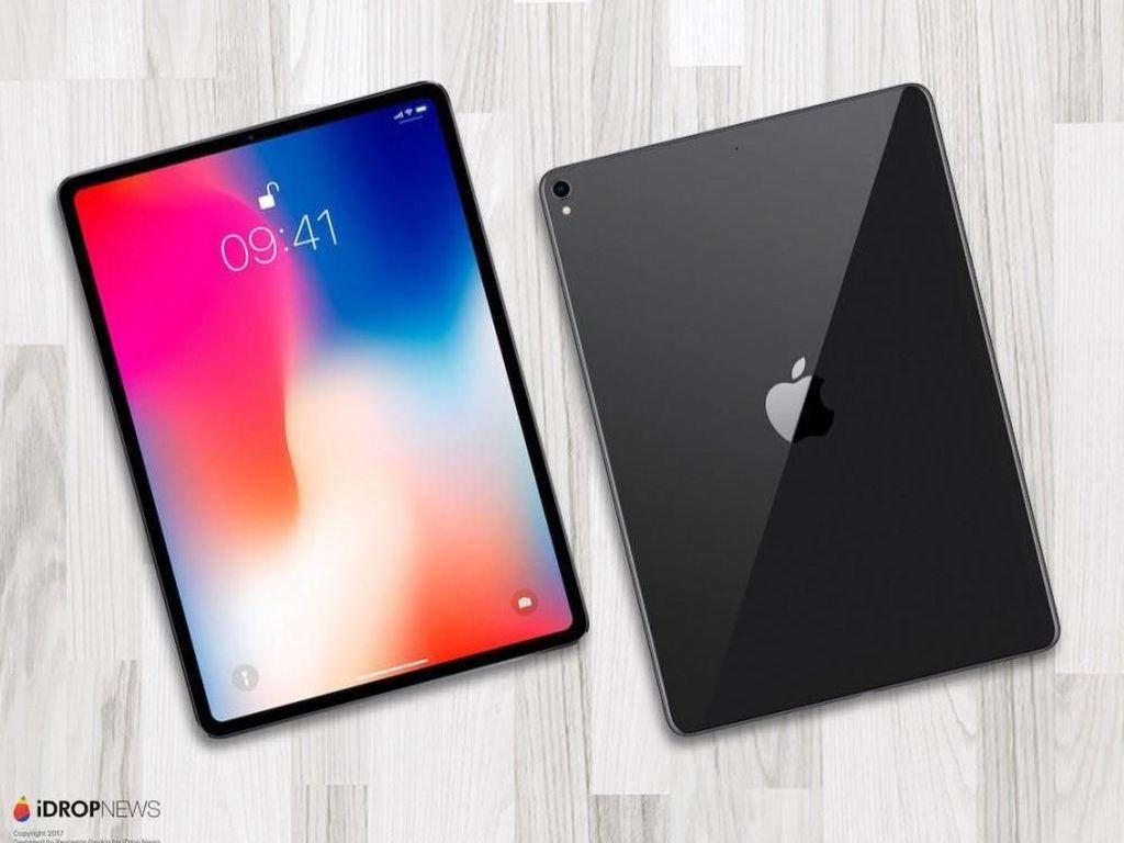 Kerennya iPad Pro Anyar Rasa iPhone X