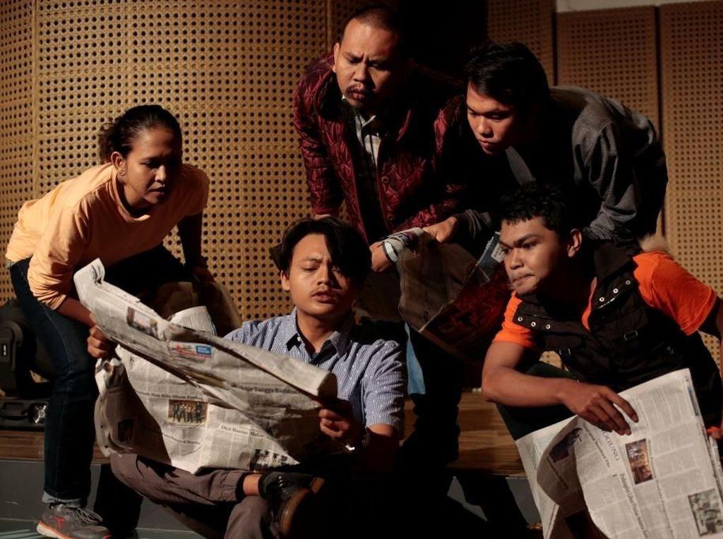 Enam Seniman Padepokan Seni Bagong Kussudiardja Sukses Pentas di Jakarta