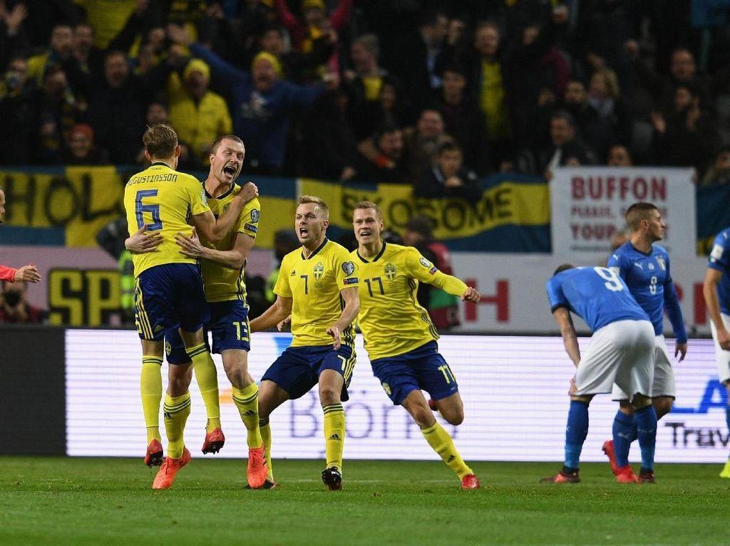 Swedia Tak Pikirkan Berapa Besar Peluang Lolos ke Piala Dunia
