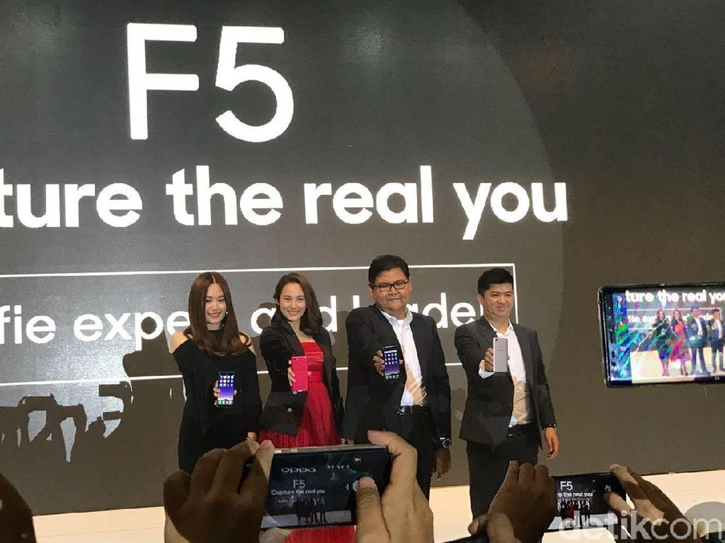 Resmi Diluncurkan, Ini Harga Oppo F5