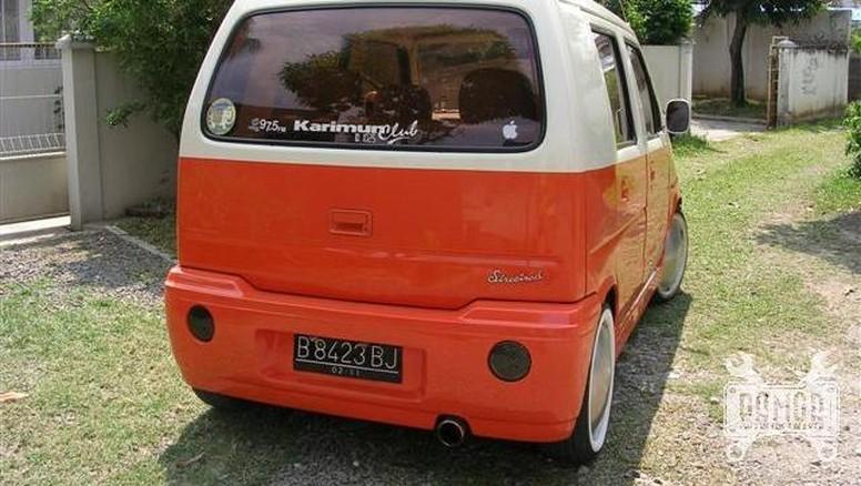 Suzuki Karimun Ini Bergaya Retro Klasik