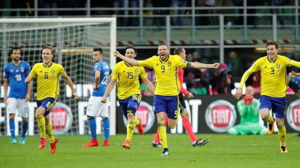 Main Bertahan Jadi Satu-satunya Senjata Swedia untuk Redam Italia