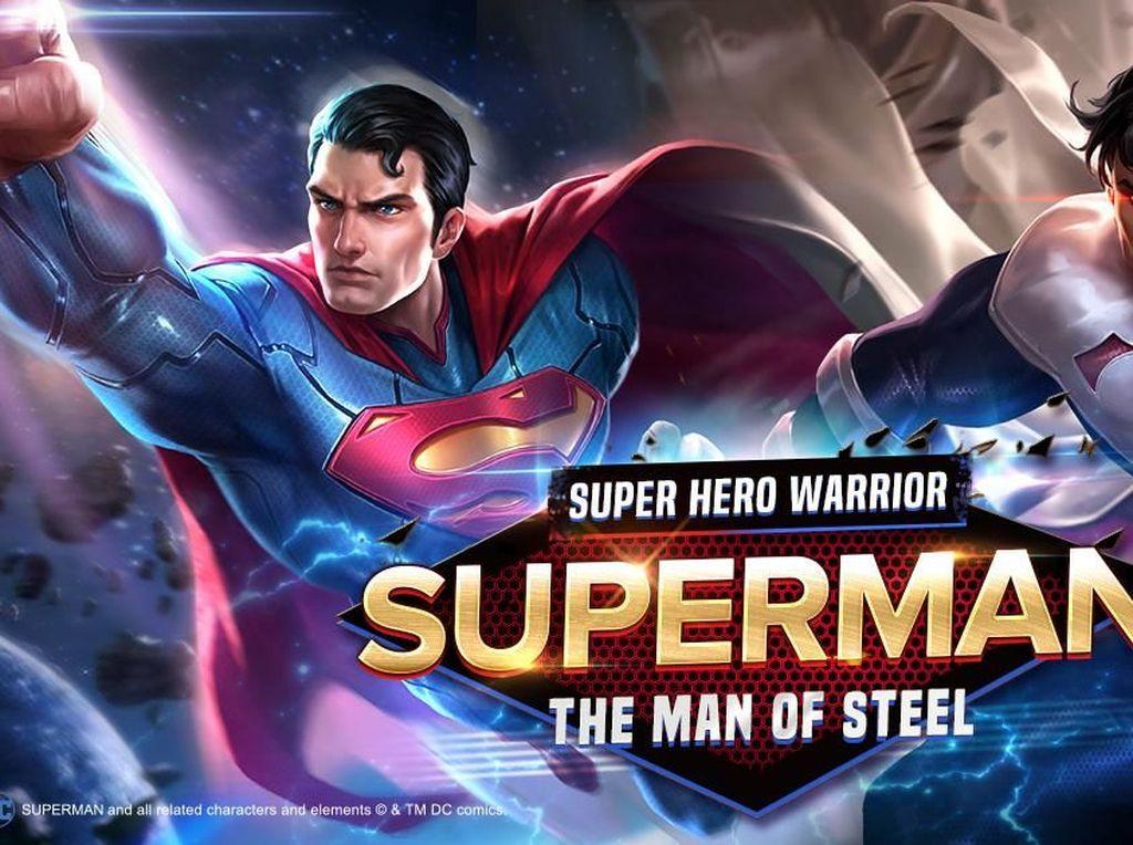 Hore! Superman Tiba di Arena of Valor