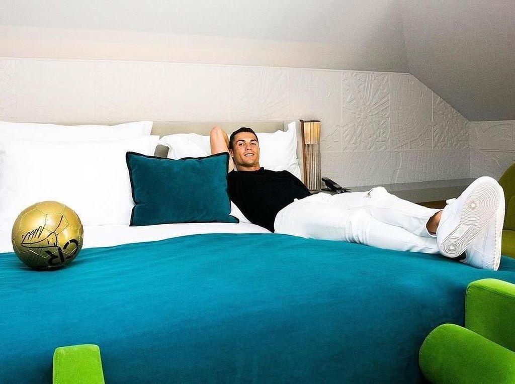 Mengintip Kamar Hotel Rp 10,5 Juta Cristiano Ronaldo