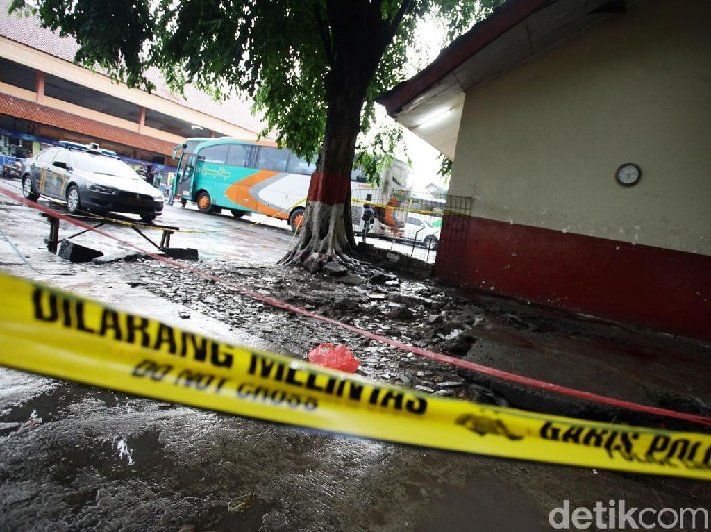 Heboh Penemuan Mayat dalam Bungkusan di Terminal Kampung Rambutan