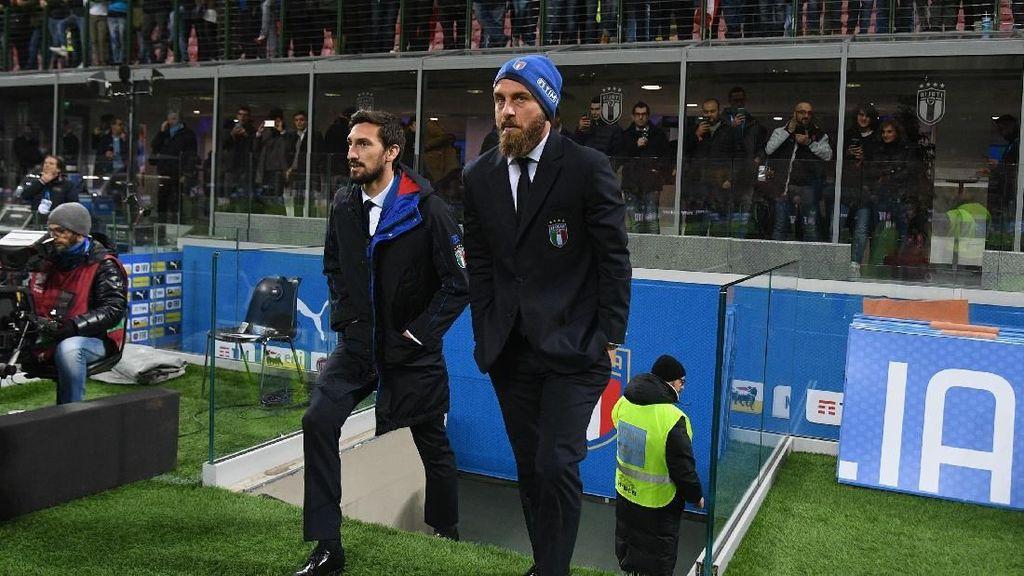 De Rossi Rupanya Datangi Bus Tim Swedia, Meminta Maaf atas Perlakuan Fans