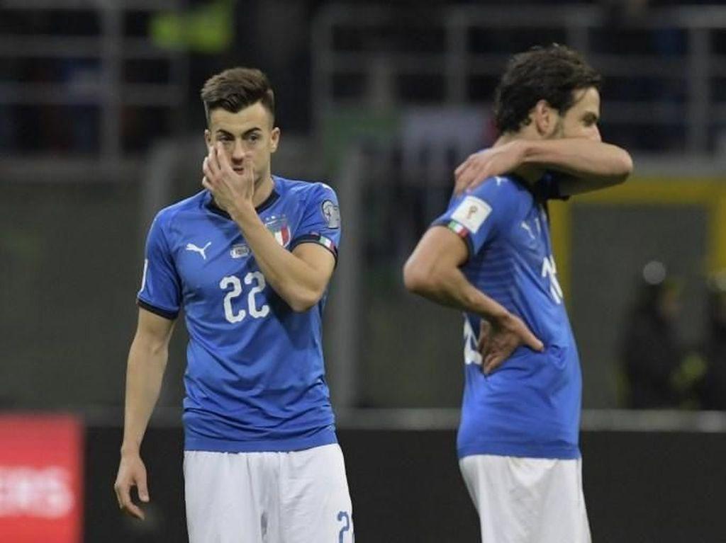 Kegagalan ke Piala Dunia Diharap Bangunkan Publik Italia