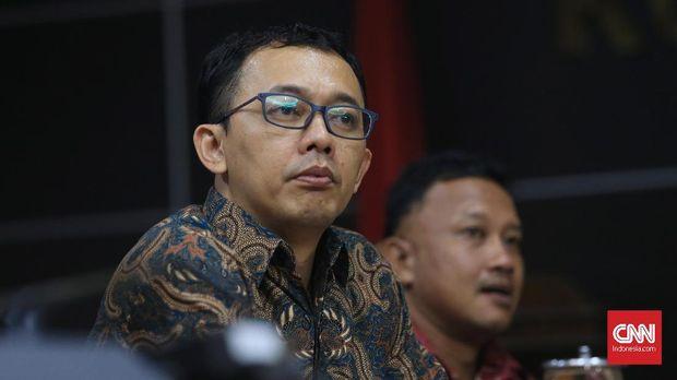 Komisioner Komnas HAM periode 2017-2022, Beka Ulung Hapsara saat jumpa pers di Kantor Komnas HAM, Jakarta Pusat, Selasa, 14 November 2017. CNNIndonesia/Safir Makki