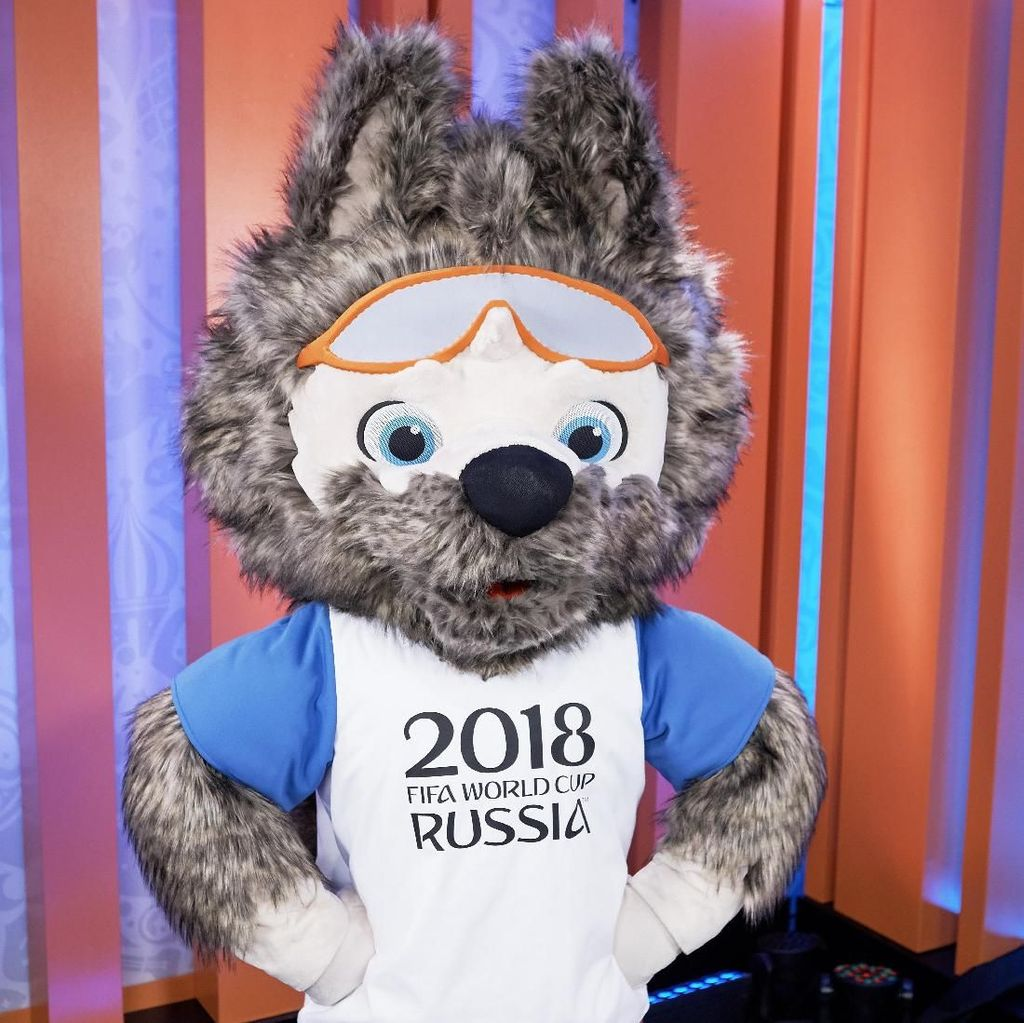 Foto: Maskot-maskot Piala Dunia