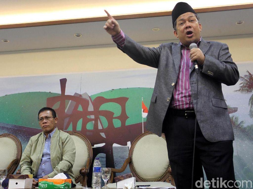Fahri Hamzah Kritik OTT Hakim: KPK Sinting dan Frustrasi
