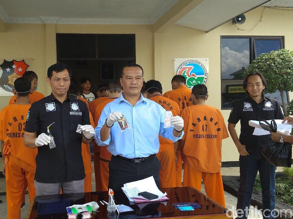 Polisi Ringkus Anak Mantan Wakil Bupati Cirebon karena Sabu