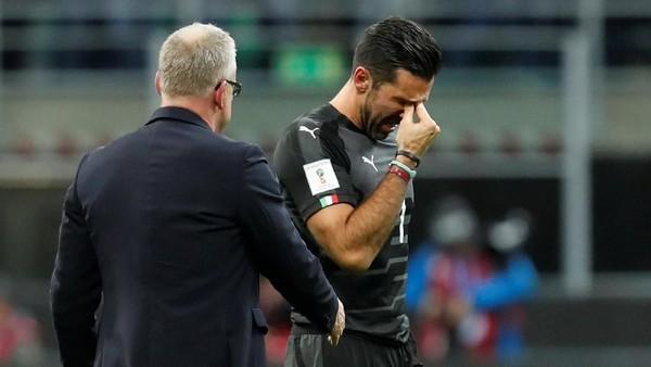 Buffon di Timnas Italia: Berawal dan Berakhir di Playoff Piala Dunia