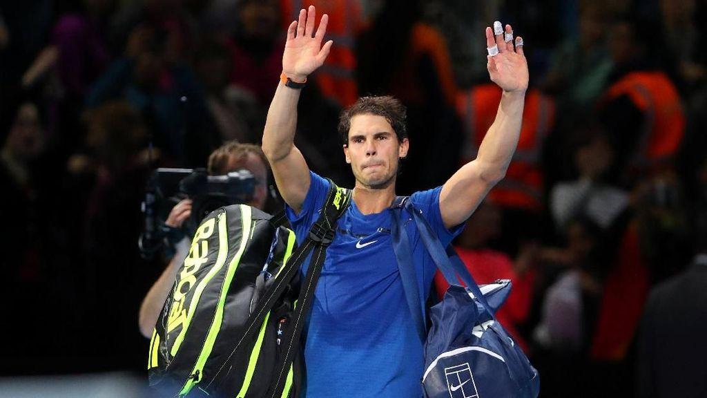 Cedera Lutut, Nadal Mundur dari ATP Finals