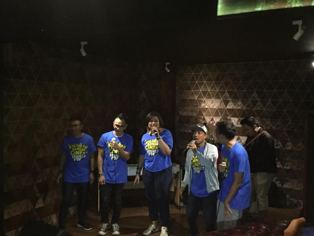 Personel Project Pop Jenguk Augie Fantinus di Tahanan