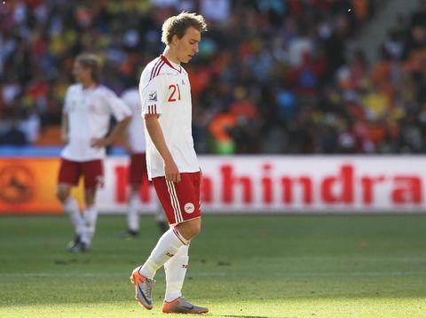 Christian Eriksen di Piala Dunia 2010