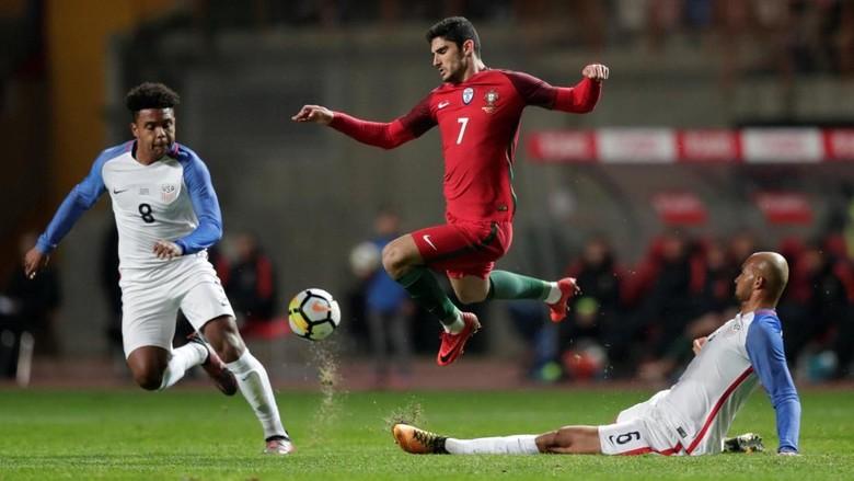 Portugal Ditahan Imbang AS 1-1
