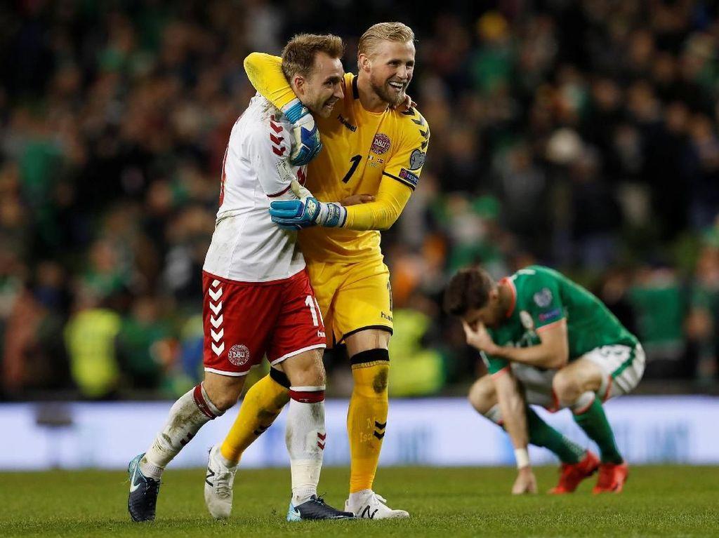 Hat-trick Eriksen Bawa Denmark ke Piala Dunia 2018
