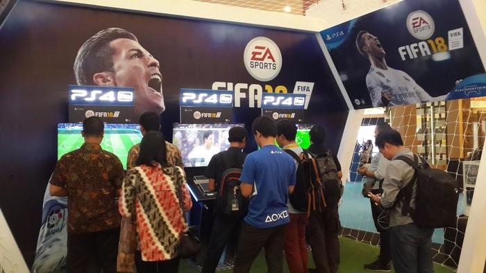 Suasana PlayStation Play Everything. Foto: Muhamad Imron Rosyadi/inet