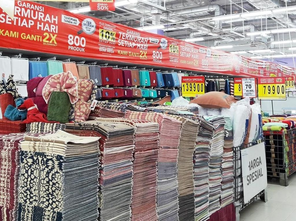 Diskon Sampai 50% Perlengkapan Rumah Tekstil di Transmart Carrefour