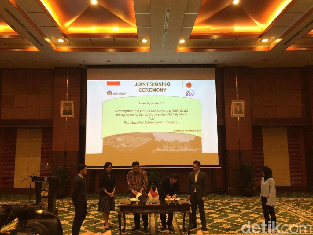 Jepang Gelontorkan Rp 15 T Bangun Kampus UGM dan Pelabuhan Patimban
