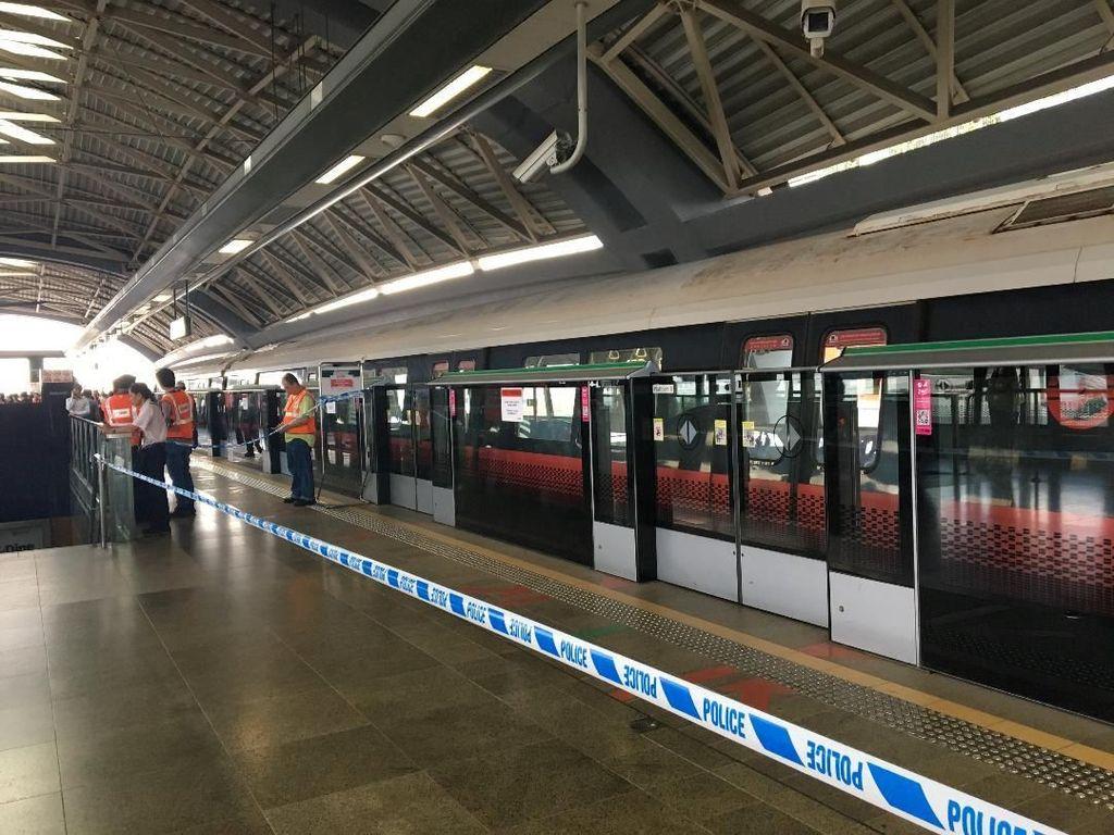 Tabrakan Kereta MRT Singapura Terakhir Terjadi 24 Tahun Lalu