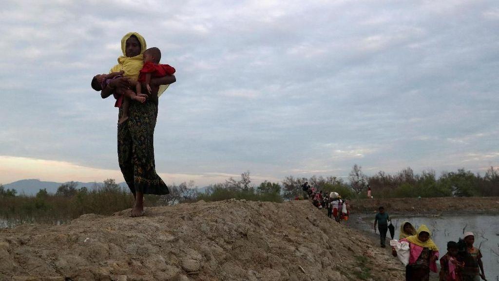 Melihat Pengorbanan Para Ibu Pengungsi Rohingya