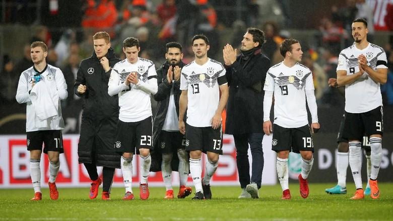 Jerman Tak Terkalahkan di Sepanjang 2017