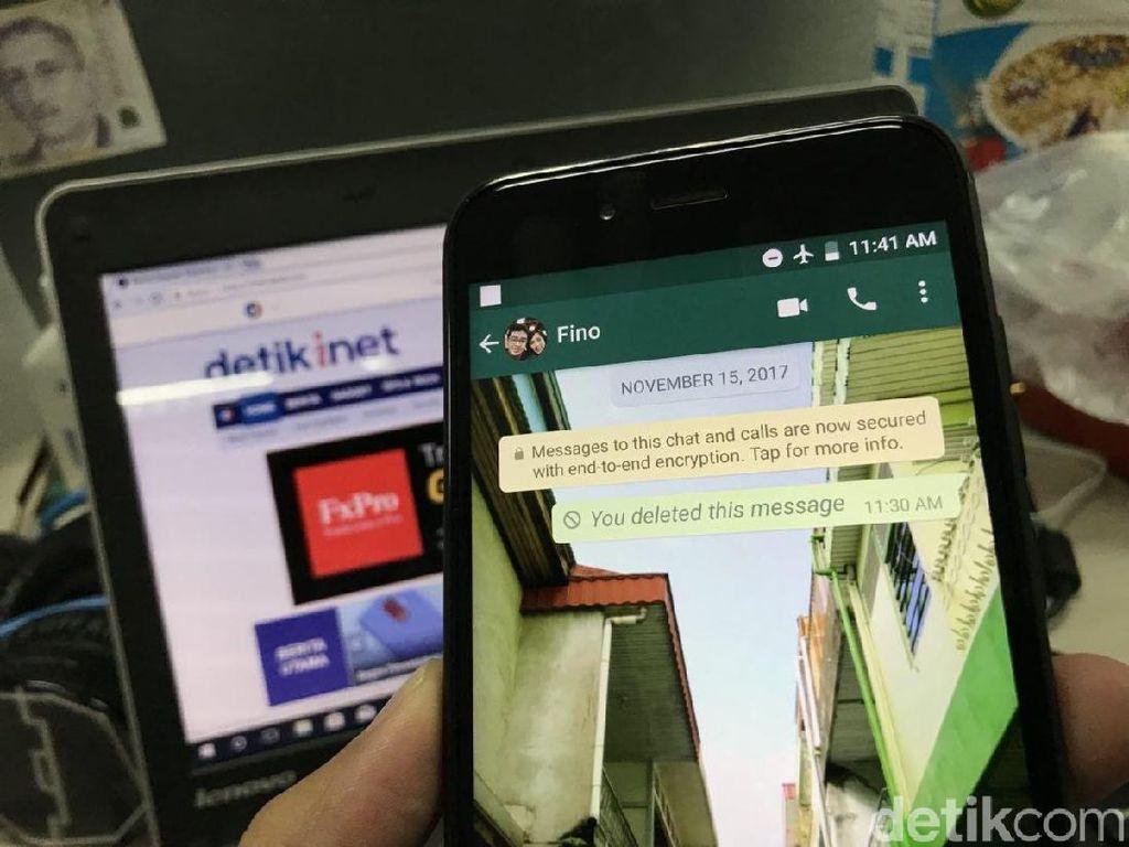 Terungkap! Cara Hapus Pesan Terkirim WhatsApp Lewat 7 Menit