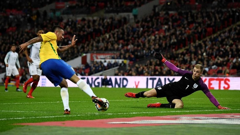 Permainan Inggris Lawan Brasil Tak Sesuai Rencana