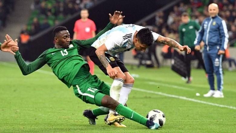 Buang Keunggulan Dua Gol, Argentina Dikalahkan Nigeria