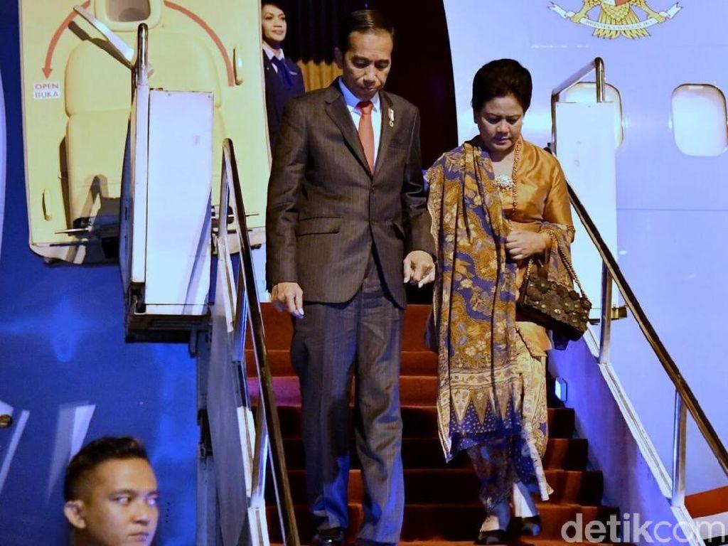 Tiba di Singapura, Jokowi Siap Hadiri KTT ke-33 ASEAN